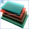100% Original Material Green Polycarbonate Double Wall 4mm Sheets