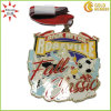 Cheap Sale Soccer Sport Metal Medal with Epoxy Coating