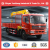 Sitom Light Truck Crane with 6t/4X2 Truck Crane