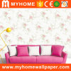 Beautiful Flower Washable Wall Covering Wallpaper