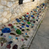 Made in China Blue Glass Rocks Low Price