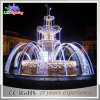 Plaza Rectangle LED Light Colorful Musical Dancing Outdoor Fountain Light