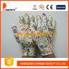 Ddsafety 2017 13 Gauge Flower Design Seamless PVC Dots Gloves