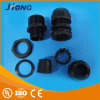 Plastic Nylon Watertight Gray Black Cable Gland with CE Certificate