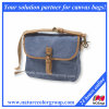 Waxed Canvas Crossbody Bag Messenger Bag