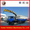 Dongfeng 4X2 5 Ton Telescopic Boom Truck Crane