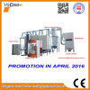 Automatic Spray Booth with Powder Feed Center