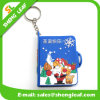 Christmas Santa Keychain Souvenir Gifts Creative Customize PVC Rubber