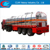 Heavy Duty 40-60cbm Chemical Liquid Tanker Semi Trailer with Tractor