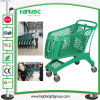 Full Plastic Supermarket Shopping Cart