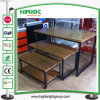 MDF Wooden Promotional Clothing Display Table 3 Layers