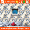 Home Decoration PVC Flower 3D Wall Paper