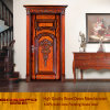 Nature Solid Wood Door Wholesale Entry Front Door (XS2-008)