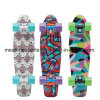 "17"" 21""36"" Plastic Fish Penny Skate Board with Transfer Printing Patterns"