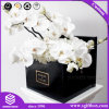 Black Extensive Flower Shipping Cardboard Premium Custom Hamper Flower Box