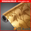 Colorful Design Deep Embossed Beautiful 3D PVC Wallpaper