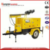 Ce ISO Light Tower Diesel Silent Generator for Bad Road Price
