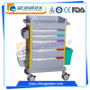 Hospital ABS Emergency Cart Nursing Medical Trolley