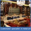 Customized Luxury Golden Stainless Steel Curtain Wall/Backgroud Wall for Villa/Club