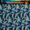 2017 Polyester Triangle Stretch Fabric with Printing for Sportwear