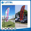 Outdoor Teardrop Swoop Flag Banner for Exhibition