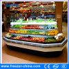 Vertical Upright Multideck Open Display Vegetable Chiller for Store