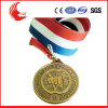 Embossed Logo Metal Antique Brass Challenge Olympic Medal