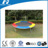 Trampoline with Colorful PVC Frame Pad, Trampoline Without Enclosure