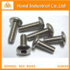 Stainless Steel Button Head Hex Socket Security Machine Screw with Pin