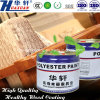 Huaxuan Wooden Furniture Paint UV Laser Roller Painting Glossy White Top Coat