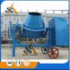 Portable Blue Concrete Mixer with Tilting Drum