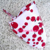 Promotional Custom Made Cherry Printed Girls Cotton Triangle Bandana Scarf