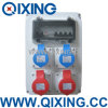 Qixing Plastic Combination Socket Box (QCSM-03)