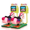 3D Racing Horse Kids Video Game Coin Operated Indoor Kiddie Rides Coin Operated Horse Ride/Coin Operated