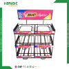 Wholesale Supermarket Powder Coated Round Bin Display Stand
