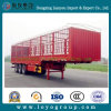 3 Axles Cargo Grain Fence Stake Semi Trailer for Transportaion