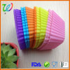 Factory Wholesale FDA Approved Set of 10 Pieces Silicone Muffin Cases
