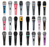 Professional Wire Wireless Dynamic Microphone/Handheld Headset Microphone/VHF UHF Recording ...