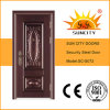 Top Quality Copper Color Steel Doors (SC-S072)
