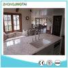 White Calacatta Prefabricated Quartz Stone Countertop for Kitchen