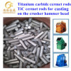 Tic Cermet Rods for Casting on High Manganese Steel Crusher Hammer
