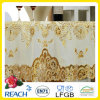PVC Lace Gold Crochet Tablecloth Round 180cm Wedding/Party Deco. (JFTB-007B)