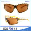 Soflying Oversize PC Brown Frame Sunglasses for Cycling Running