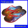 Colorful Flower Printing Design PE Fashion Slipper for Unisex