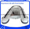 Weihai Inflatable Aluminum Rib Boat with Front Locker