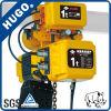 PDH Electric Chain Hoist 1 Ton Chain Bag Electric Hoist with Motor