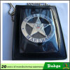 3D Detective Leather Wallet Police Badges