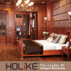 Customized Solid Wood Furniture Set (Wardrobe/Cloakroom/Dressing Table/Bed