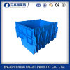 Storage Use Plastic Logistic Tote Box with Lid