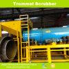 High Capacity Rotray Trommel Scrubber